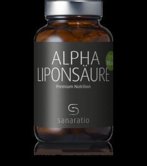 Sanaratio Alpha-Liponsäure ist einhochwirksames Antioxidans