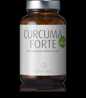 Curcuma Forte - reiner Curcuma Extrakt mit Piper nigra